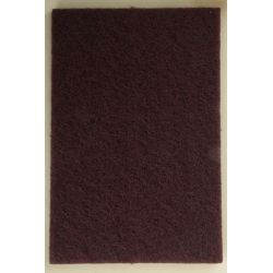 FEUILLE ABRASIVE ROUGE 152 X 229 mm
